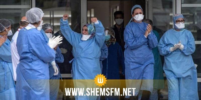 ارتفاع عدد المتعافين من كورونا في تونس إلى 61402 حالة