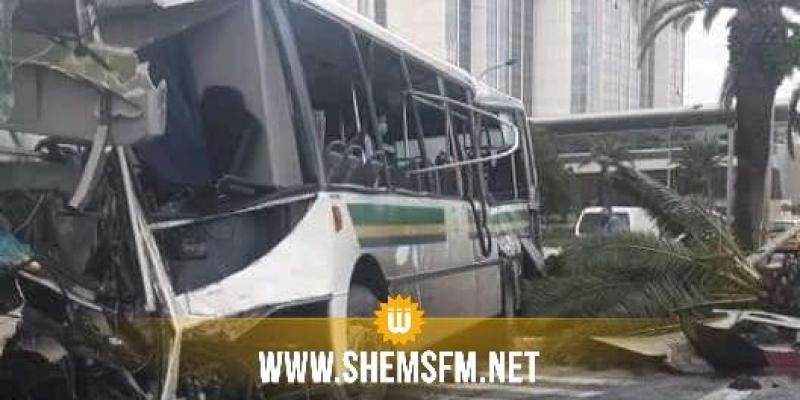 وزارة الصحة: 47 مصابا في حادث اصطدام حافلتين بشارع محمد الخامس