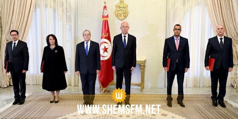 سعيّد يُسلم أوراق اعتماد سفراء جدد لتونس في 4 بلدان
