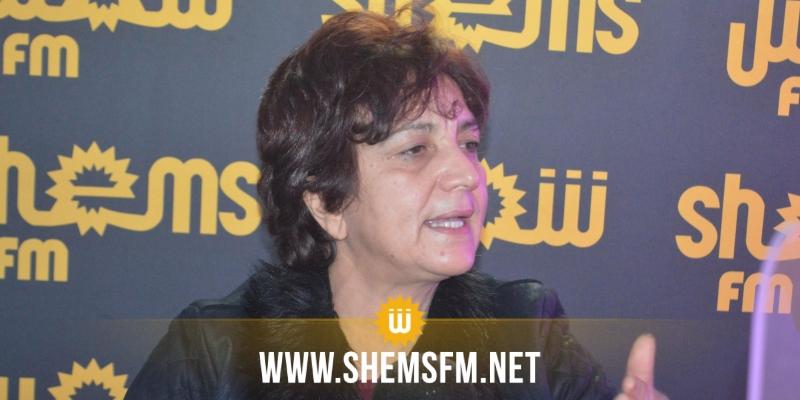 سامية عبو:''دخلنا مرحلة تفكيك الدولة''