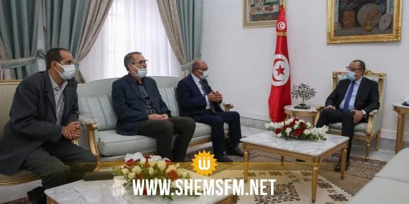 رئيس الحكومة يستقبل وفدا عن الرابطة التونسية للدفاع عن حقوق الإنسان