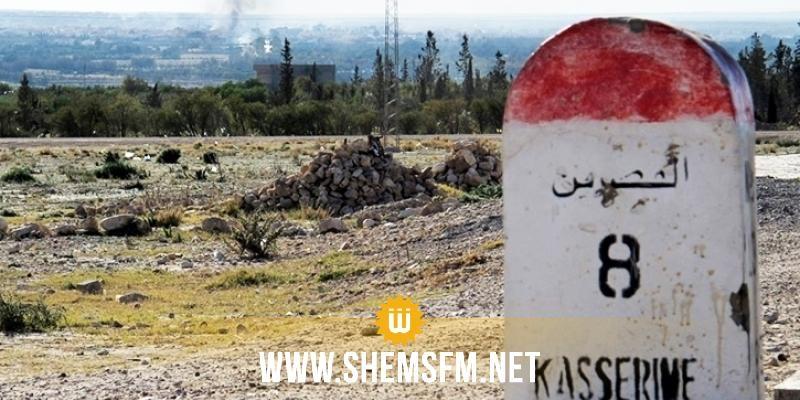 القصرين: غلق الطريق المؤدية إلى معبر بوشبكة الحدودي