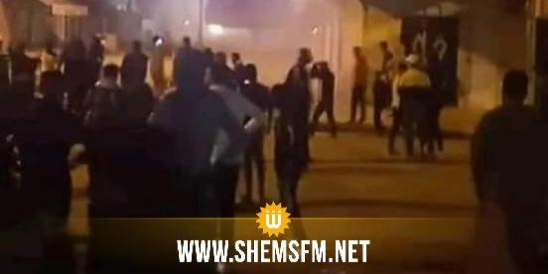 بالصور: مواجهات بين محتجين وقوات الأمن في جلمة