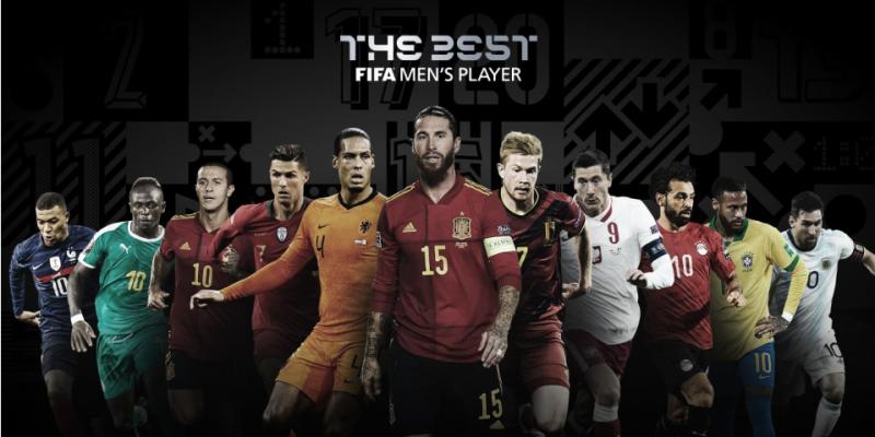 الفيفا تكشف عن قائمة المرشحين لجائزة أفضل لاعب في العالم لسنة 2020