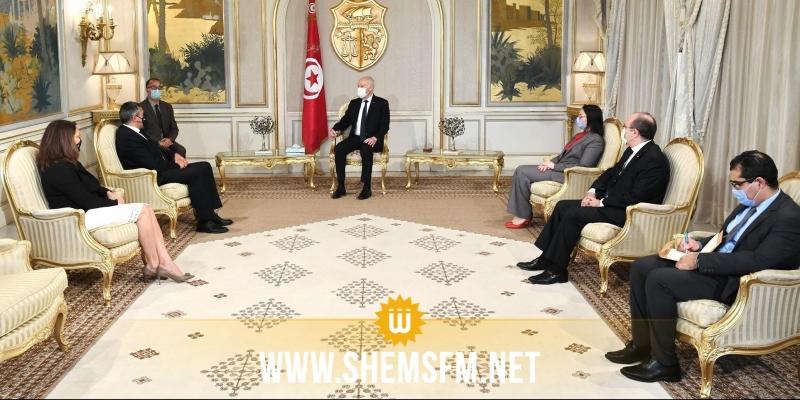 خلال لقائه رئيس الدولة: أمين عام منظمة السياحة العالمية يؤكد العزم على تعزيز التعاون مع تونس