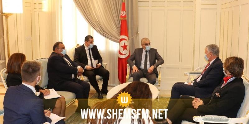 وزير التربية والسفير الفرنسي يتفقان على دعم التعاون في المجال التربوي