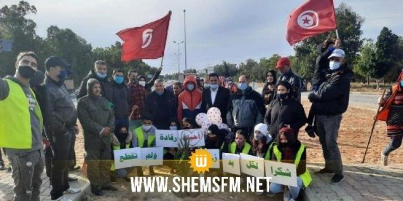 القصرين: عدد من عملة الحضائر يتوجهون إلى الحدود التونسية الجزائرية