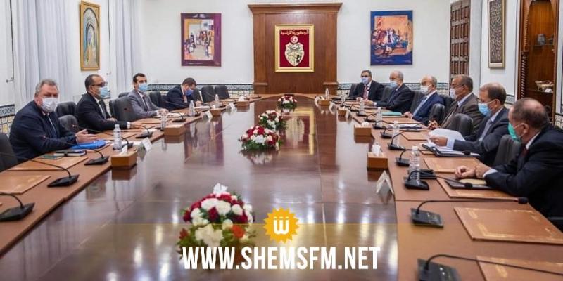 مشروع قانون المالية لسنة 2021 محور لقاء رئيس الحكومة بوفد من منظمة الأعراف