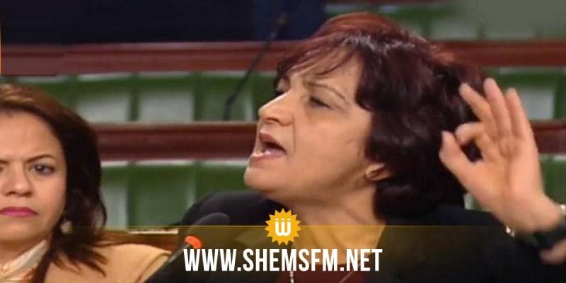 سامية عبو تدعو لإحداث ميثاق أخلاقي ضد العنف اللفظي وترفض تواجد الغرياني في المجلس