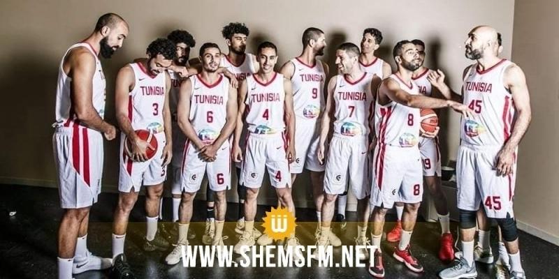 كرة السلة: المنتخب يفوز في مباراته الثالثة