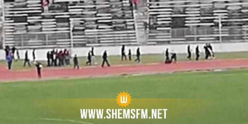 احتجاجا على اليونسي: جماهير الإفريقي  تقتحم المباراة الودية