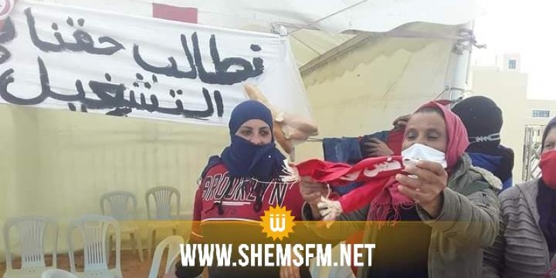 صفاقس: محتجون يغلقون المصب البلدي بطينة