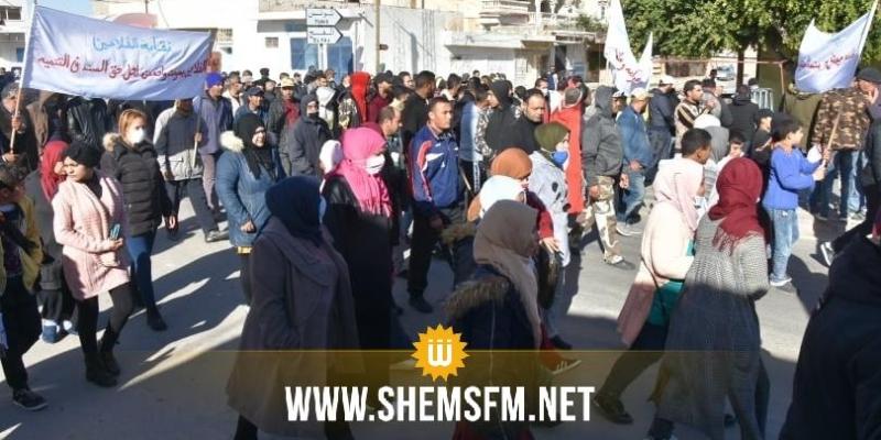 قفصة: إضراب عام و مسيرة بمعتمدية السند