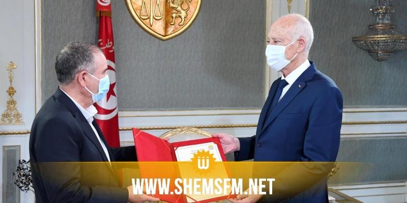 سعيد خلال لقائه الطبوبي: ''لا مجال للحوار مع الفاسدين ولا مجال لحوار بالشكل الذي عرفته تونس السنوات الماضية ''