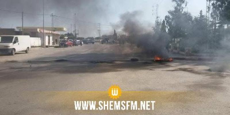 سيدي بوزيد: تجدد المواجهات بين المحتجين وقوات الأمن في جلمة