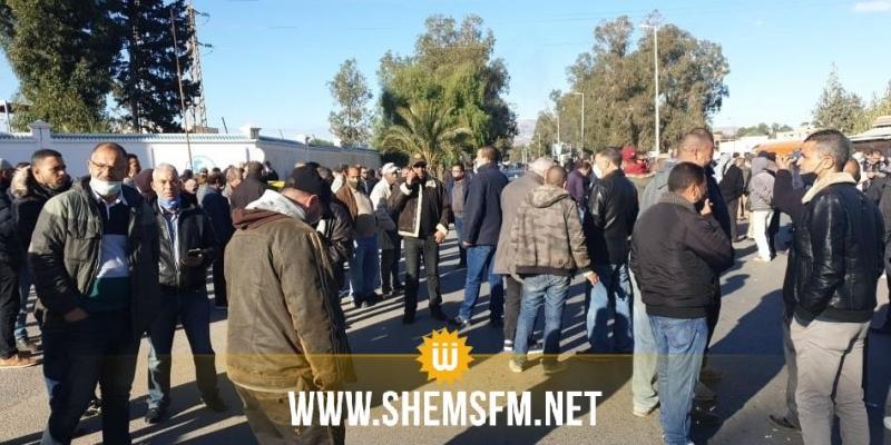 القصرين: عمال الشركة الوطنية لعجين الحلفاء يحتجون