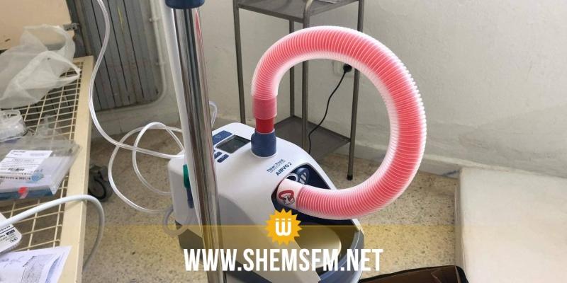 سبيطلة: الأهالي يتبرعون بآلة تنفس للمستشفى المحلي