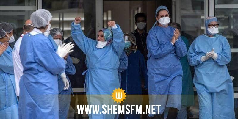 1134 حالة شفاء جديدة من كورونا في تونس