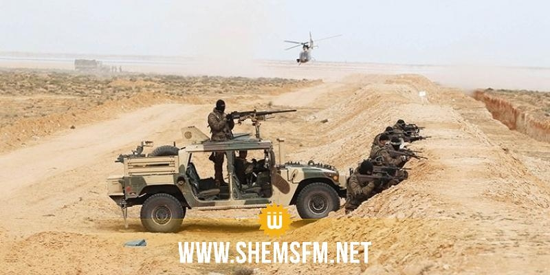 المنطقة الحدودية العازلة: إيقاف 3 تونسيين كانوا على متن سيارة وإصابة أحدهم بطلق ناري