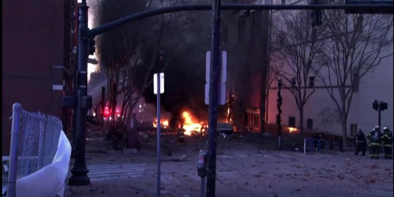 Etats-Unis : l'auteur de l'explosion de Nashville est mort dans la déflagration