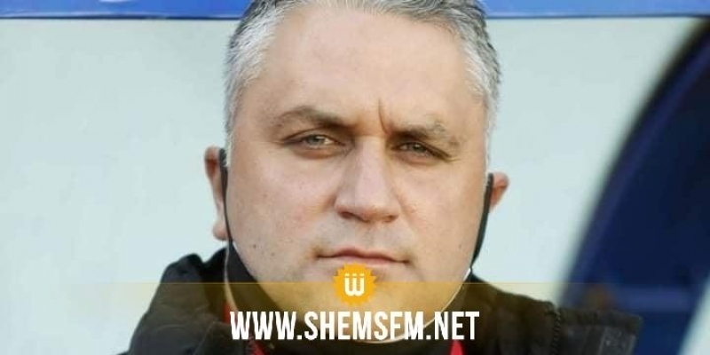 ASS : fin du contrat de l'entraîneur Sami Gafsi