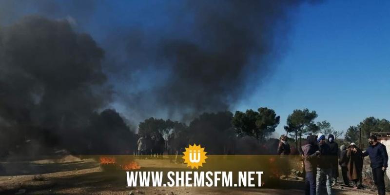 محاولة اقتحام حقل النفط الدولاب في ولاية القصرين من قبل عدد من المعتصمين