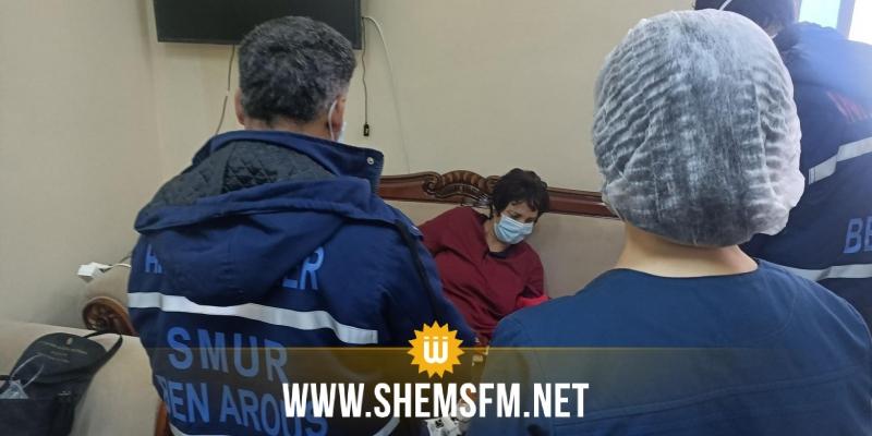 راشد الغنوشي يطلب نقل سامية عبو الى المستشفى العسكري إثر تعكر حالتها الصحية