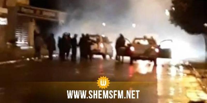 سليانة: عمليات كر وفر بين عدد من الشباب ووحدات الأمن