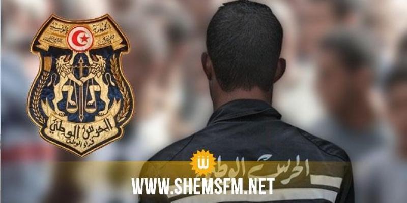 جندوبة: وفاة عون حرس بعد إصابته بطلقة من سلاحه