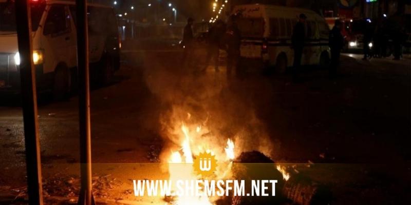 لليلة الثالثة على التوالي: فوضى وشغب واستعمال الغاز المسيل للدموع بسوسة