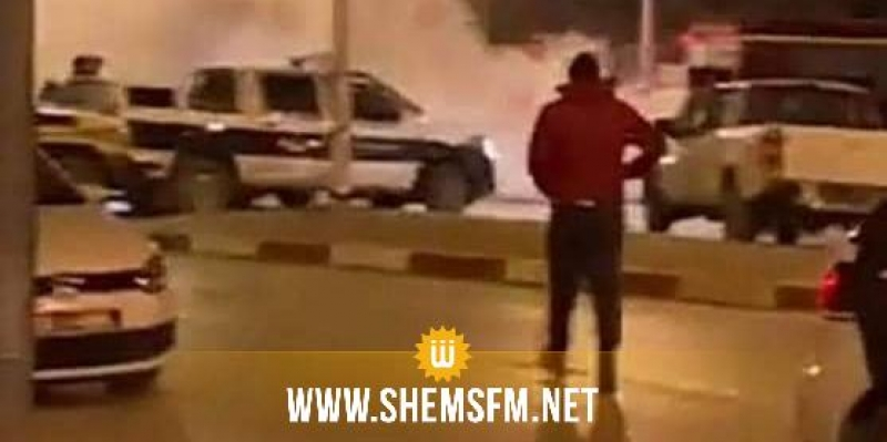 القيروان: منحرفون يشعلون العجلات المطاطية ويحدثون الشغب فى حي طريق حفوز