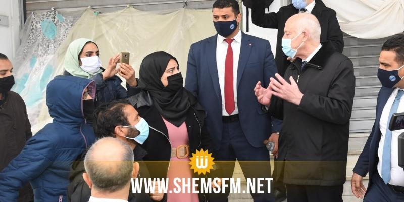 بعد زيارة سعيّد: الدكاترة المعطلون عن العمل يعلقون اضراب الجوع