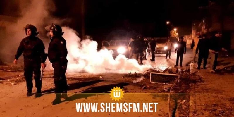 منزل بورقيبة: إيقاف 8 أشخاص من مرتكبي أعمال الشغب
