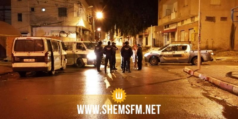 القصرين: عمليات كر وفر بين عدد من الشبان ووحدات الأمن في حي النور