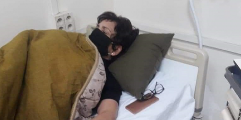 نقل سامية عبو إلى المستشفى إثر تعكر حالتها الصحية