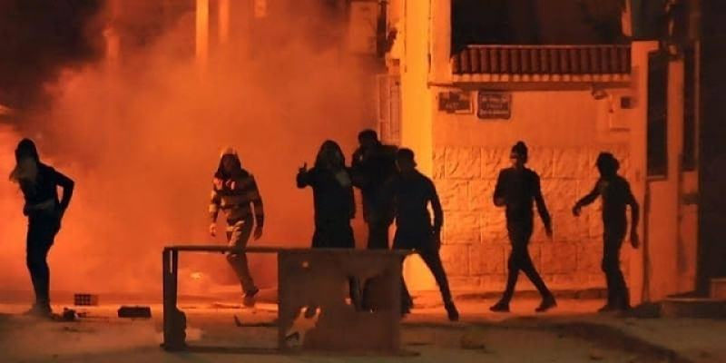 قصر هلال: الأمن يتصدى لمحاولة اقتحام وسرقة معمل الحديد