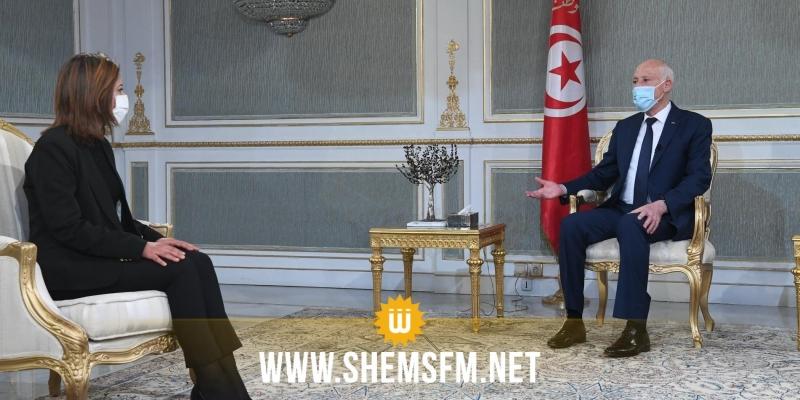 رئيس الجمهورية يستقبل إحدى الدكاترة الباحثين المعطلين عن العمل