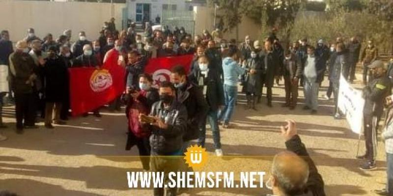 الرقاب: تحرك احتجاجي للمطالبة بالتنمية والتشغيل