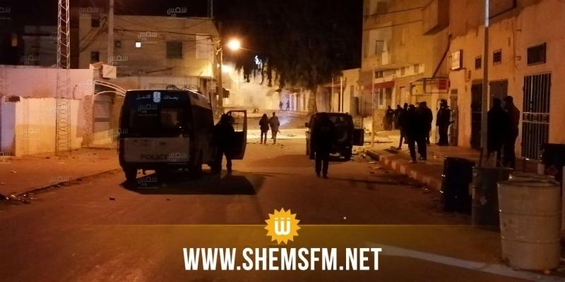 القصرين: 27 بطاقة إيداع بالسجن وإحالة 7 أطفال على الإصلاحية إثر الأحداث الأخيرة