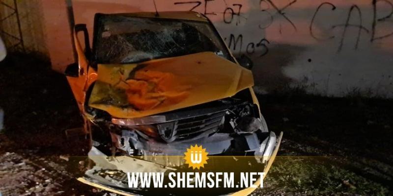 بين منزل عبد الرحمان وجرزونة: إصابات خطيرة لـ4 أشخاص في حادث مرور (صور)