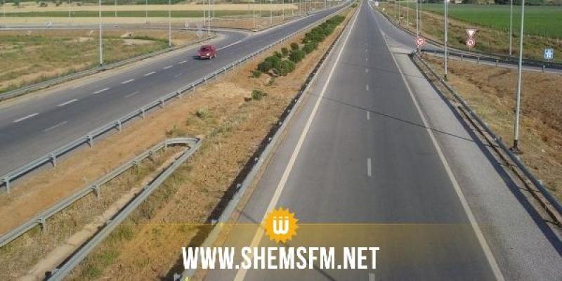 Tunis/Sfax: Changement de la circulation au niveau de l'échangeur de Borjine