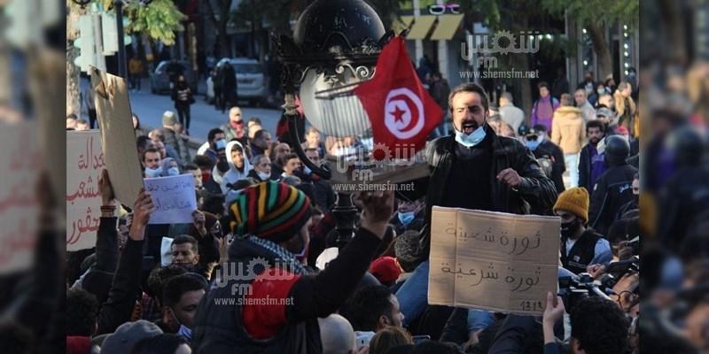 الوطد يعلن مساندته اللامشروطة  للاحتجاجات ويدعو للانخراط فيها وحمايتها من الإختراق والتخريب