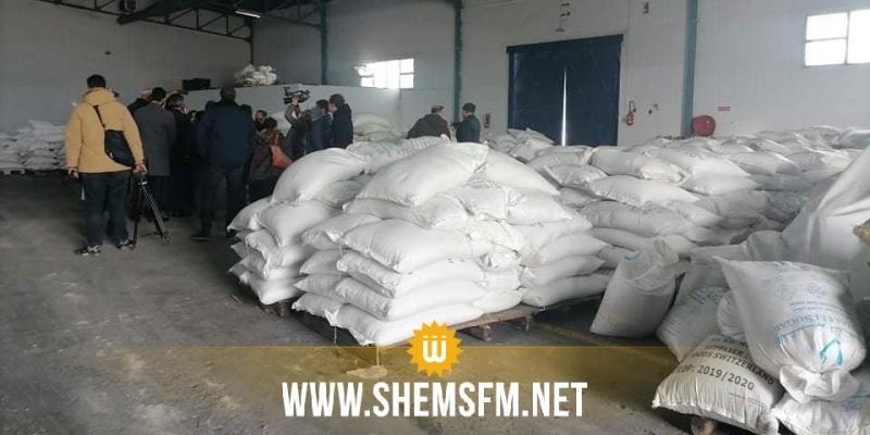 ديوان التجارة: ''الثقوب في الحاويات سببت فساد الأرز والقهوة والسكر وسنسترجع قيمتها المالية''