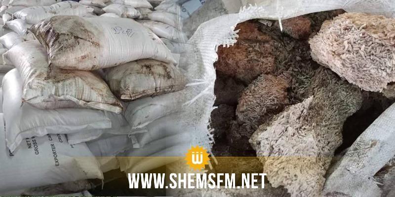 معز بالحاج: 'مئات الآلاف من أطنان الأرز والقهوة والحليب المستوردة فاسدة'