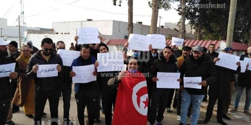 حيدرة: مسيرة احتجاجية للمطالبة بالتسريع في إنجاز المشاريع المعطلة (صور)