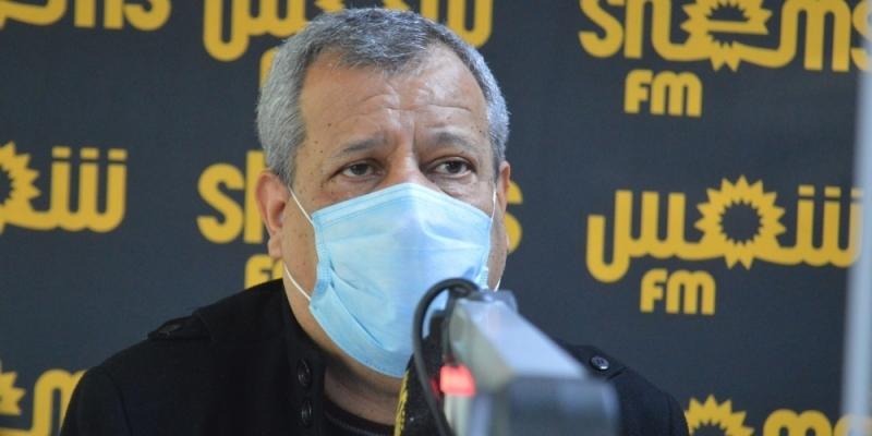 الدكتور عوينة: 'كل ربع ساعة حالة وفاة بكورونا في تونس'