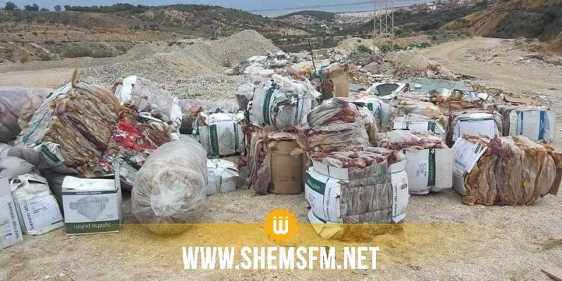 أريانة: فتح بحث تحقيقي على اثر اكتشاف كميات كبيرة من النفايات في منطقة في رواد