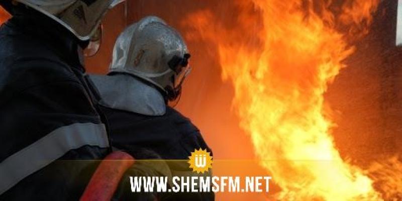 قابس الجنوبية: حريق في محل لبيع البنزين