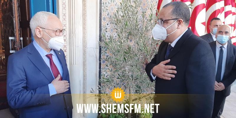 استقبله الغنوشي: هشام المشيشي يصل إلى البرلمان