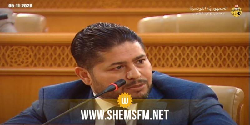 محمد عمار: طلبنا من المشيشي التواصل مع القيادات الأمنية لتخفيف 'المحاصرة الأمنية للبرلمان'